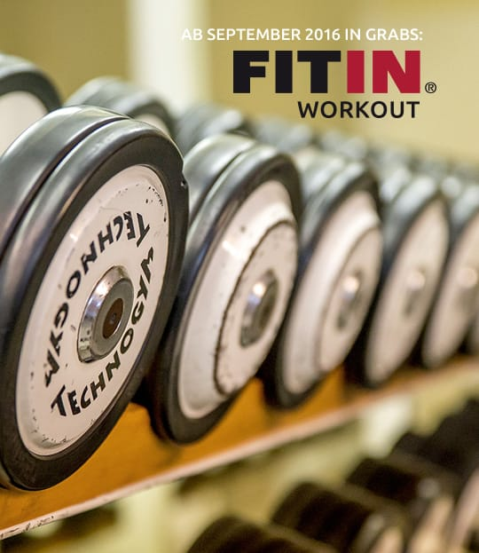 FITIN Workout: Seit September 2016 in Grabs!